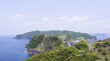 自然あふれる鹿児島の離島『甑島(こしきじま)』フリープラン上甑&下甑