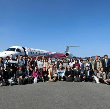 長崎新聞に五島済州国境観光ツアーが取り上げられました! 1-2