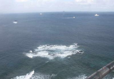 日本最西端、260m北北西へ。沖縄県・与那国島の岩を地形図に
