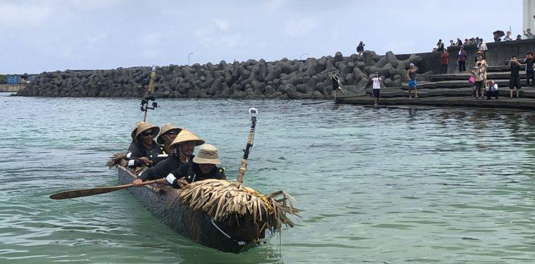 丸木舟到着!「3万年前の航海 徹底再現プロジェクト!」成功!! 2